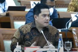 Menteri Erick Thohir ungkap 35 BUMN masuk dalam restrukturisasi/optimasi PPA