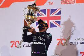 Grand Prix, Hamilton juarai GP Bahrain, Grosjean lolos dari maut