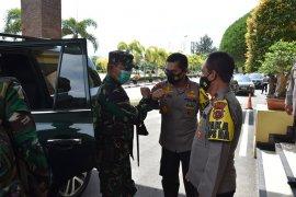 Kapolda Aceh terima kunjungan Pangdam IM