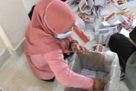 Surat suara untuk Pilkada Bengkayang kurang 858 lembar