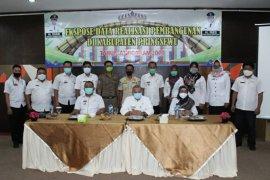 Asisten II buka ekspose data realisasi pembangunan Kabupaten Pringsewu tahun 2020c