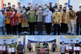 UBB Bersama AIPI dan STISIPOL P12 Diskusi Adap Baru Politik di Masa Pandemi