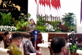 Presiden Jokowi minta belanja anggaran 2021 mulai direalisasi awal tahun