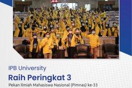 IPB raih peringkat 3 Pekan Ilmiah Mahasiswa Nasional 2020