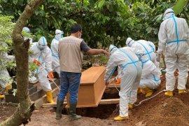 Dinkes: Kasus kematian akibat COVID-19 di Lampung 189 orang