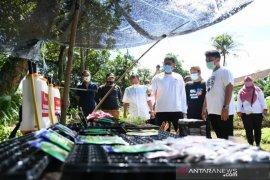 "Poktan ""Leuit Jajaka"" Bogor dibantu Sandiaga Uno 10 ribu bibit lele"