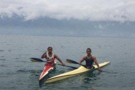 Dua atlet bersaudara cabang dayung Sulteng  target final PON XX