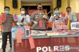 Polisi amankan 37 tersangka selama operasi Pekat Kapuas