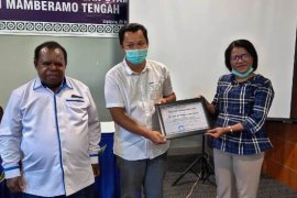 RS Lukas Enembe Mamteng dapat penghargaan dari BPJS Kesehatan