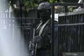Tim Densus 88 tangkap seorang terduga teroris di palembang