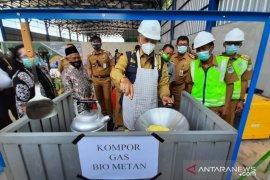 TPA Talang Gulo Jambi hasilkan komposter dan gas bio metan
