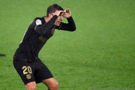 Pemain bertahan Barcelona Sergi Roberto positif infeksi COVID-19