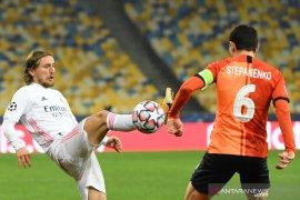 Real Madrid terancam gagal di fase grup usai dibungkam 0-2 oleh Shakhtar