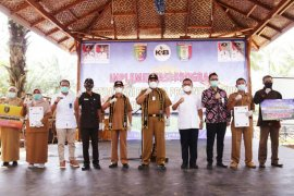 Bupati Pringsewu hadiri launching implementasi Program KPB di Pekon Sri Wungu