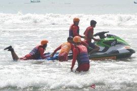 Basarnas Bali latihan penyelamatan gunakan 'Jetski'