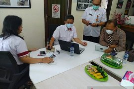 Kepala Dinas Kominfo Jembrana kunjungi LKBN ANTARA Biro Bali
