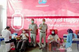 Peringati HUT ke-60, Jasa Raharja Babel gelar donor darah