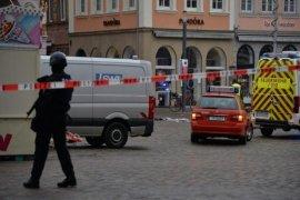 Bayi termasuk korban tewas akibat mobil tabrak kerumunan orang di Jerman