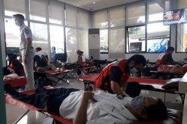 Jasa Raharja Lampung gelar donor darah sambut HUT ke-60