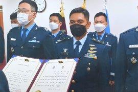 Seorang perwira TNI AU torehkan prestasi di Korea Selatan