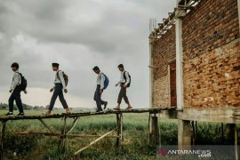 ACT Sumsel bantu gedung  sekolah di pinggiran Palembang