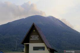 Gunung Ili Lewotolok dua kali erupsi