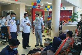 Semarakkan HUT Ke 60, Jasa Raharja Riau kumpulkan 75 kantong darah