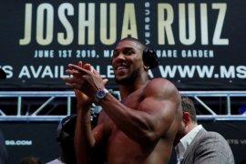 1.000 penonton boleh saksikan langsung duel petinju  Joshua vs Pulev