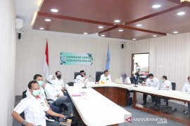 Bupati Banjar dan jajaran ikuti rakor bersama KPK RI