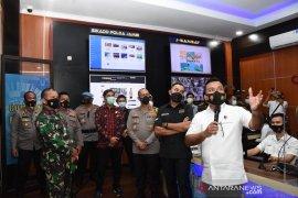 Komisi III DPR-RI tinjau 'Asap Digital'