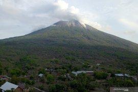 Aktivitas vulkanik Gunung Ili Lewotolok  terus berlangsung