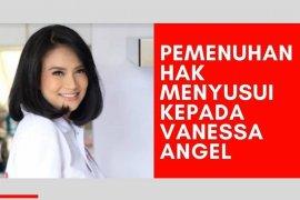 AIMI melayangkan surat permohonan agar Vanessa Angel bisa menyusui