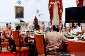 Presiden Jokowi temui pegiat reforma agraria terkait sengketa lahan