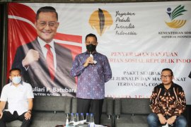 Kementerian Sosial gandeng YPJI salurkan bansos kepada wartawan