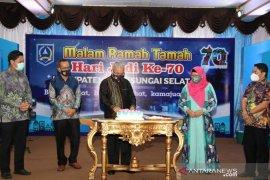 Malam ramah tamah Hari Jadi ke-70 Kabupaten HSS