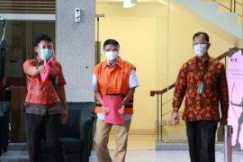 KPK tahan mantan Direktur Teknik dan Pengelolaan Armada PT Garuda Indonesia