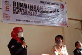 PTPS Kecamatan Sibarsel Terima Bimtek Dari Bawaslu Sitaro
