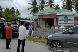 Kakanwil Kemenag Sulteng apresiasi rehab gedung KUA di Parimo
