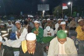 Ratusan muslim di Kota Palu doakan korban pembantaian di Sigi