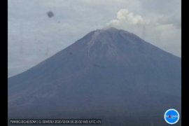 Gunung Semeru masih luncurkan guguran lava pijar