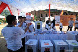 KPU Tanah Datar siapkan bilik suara khusus bagi pemilih bersuhu di atas 37,3 derajat celcius