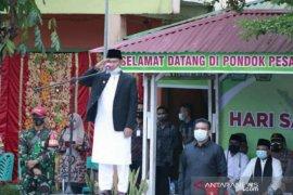 Menerapkan protokol secara ketat, Dharmasraya peringatan hari santri nasional ke-5