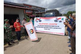 KPU Kapuas Hulu distribusikan logistik Pilkada ke daerah perbatasan