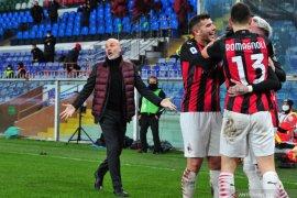 Menang tanpa Ibrahimovic, Milan dipuji kedewasaannya oleh Pioli