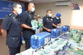 Penyelundupan narkoba asal Johor ke Indonesia digagalkan
