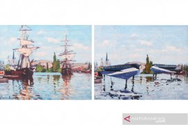 """Future Seascapes"" pamerkan lukisan klasik dengan tema masa depan"