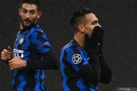 Petualangan Inter Milan di Eropa berakhir setelah diimbangi Shakhtar