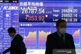 Saham Tokyo ditutup melemah karena aksi ambil untung