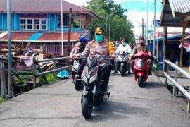 Kapolda Papua pantau pemungutan suara Pilkada Asmat