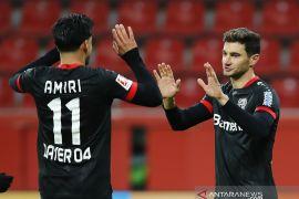 Leverkusen rebut puncak klasemen Liga Jerman usai taklukkan Hoffenheim